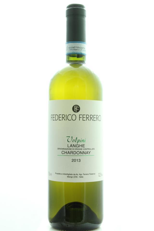 Federico Ferrero Chardonnay Volpini 2013