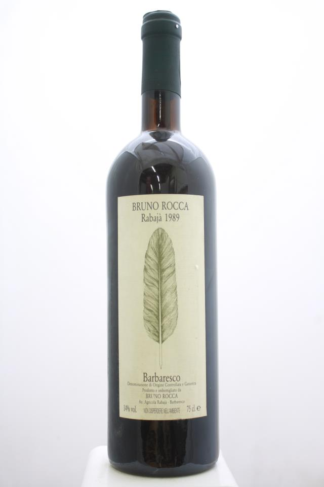 Bruno Rocca Barbaresco Rabaja 1989