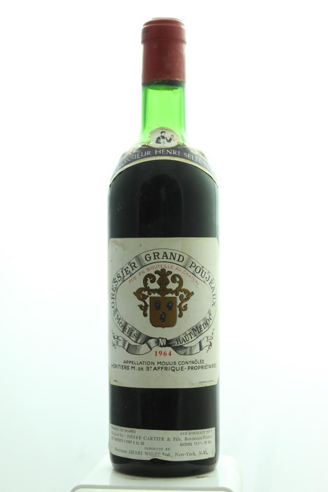 Gressier Grand Poujeaux 1964