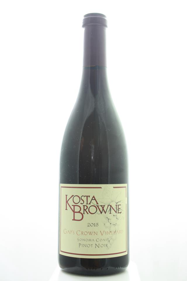 Kosta Browne Pinot Noir Gap's Crown Vineyard 2015