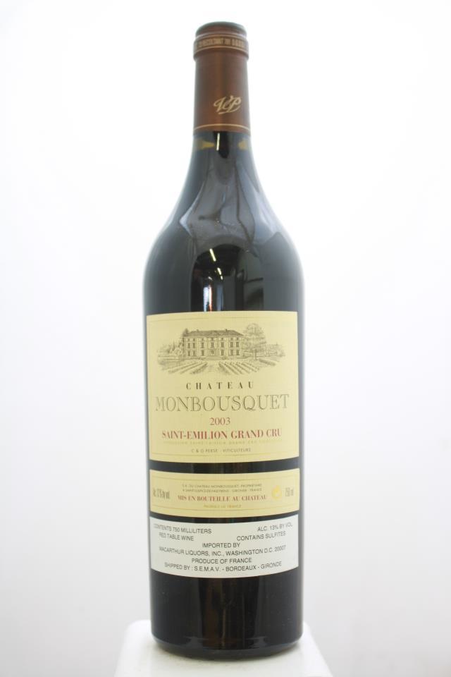Monbousquet 2003