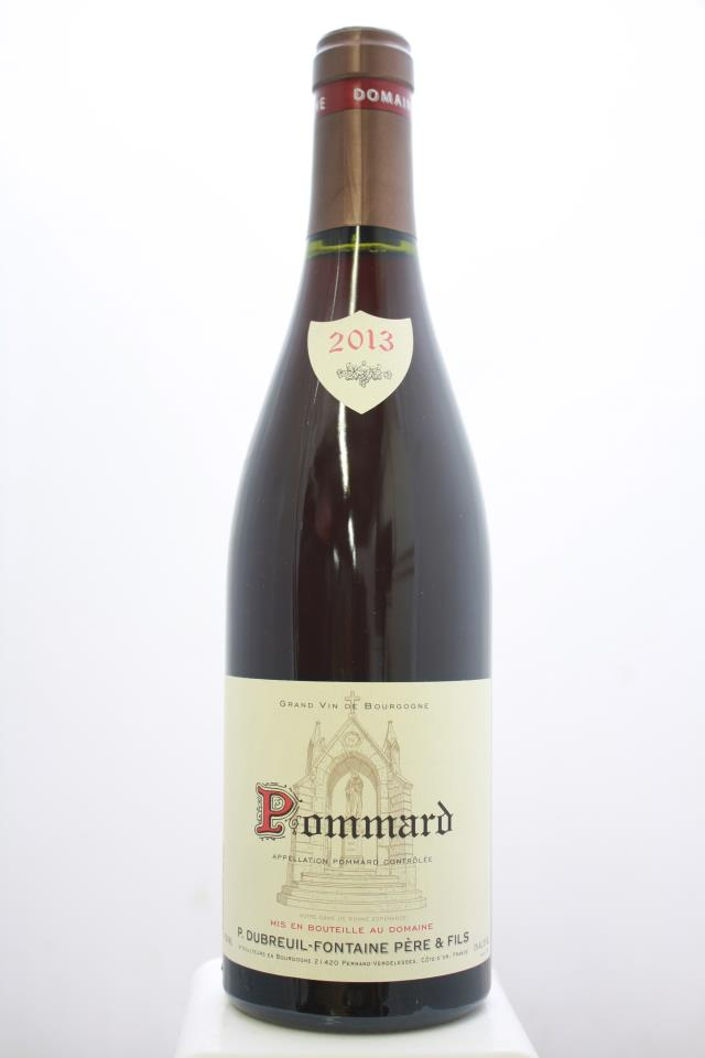 Dubreuil-Fontaine Pommard 2013