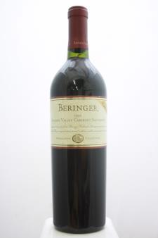 Beringer Vineyards Cabernet Sauvignon Knights Valley 1995