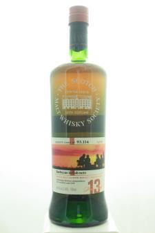 The Scotch Malt Whisky Society Single Malt Scotch Whisky Single Cask Barbecue In Fish Nets 13-Years-Old NV