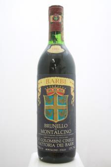 Barbi Brunello di Montalcino Colombini Cinelli 1984