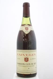Faiveley (Domaine) Chambertin-Clos de Bèze 1978