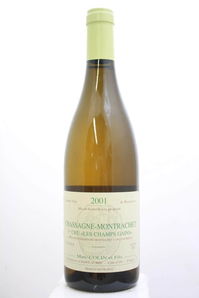 Marc Colin Chassagne-Montrachet Les Champs Gains 2001