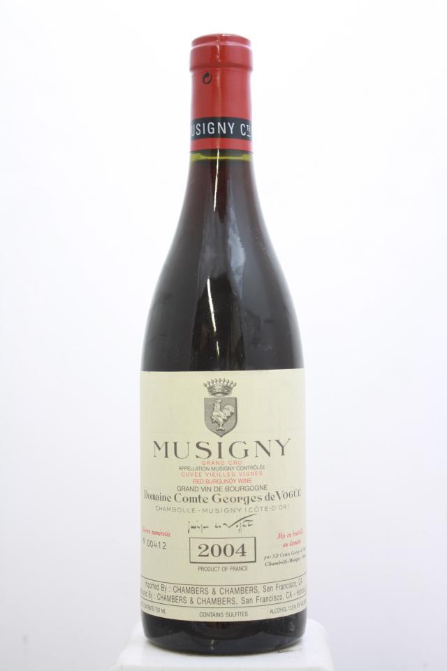 Comte Georges de Vogüé Musigny Cuvée Vieilles Vignes 2004