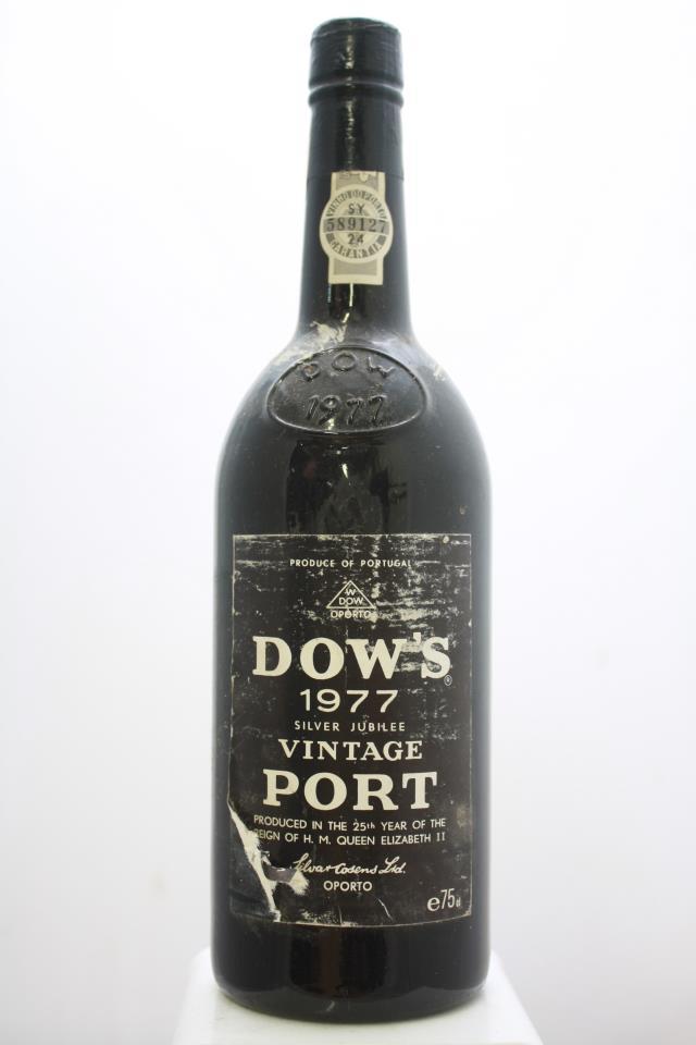Dow's Vintage Porto 1977