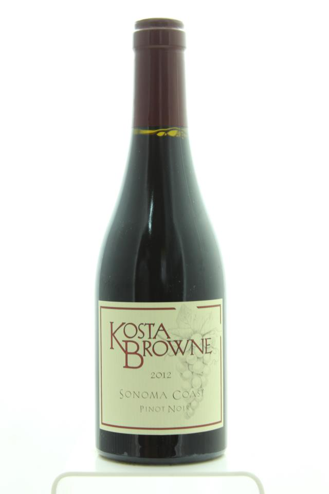 Kosta Browne Pinot Noir Sonoma Coast 2012