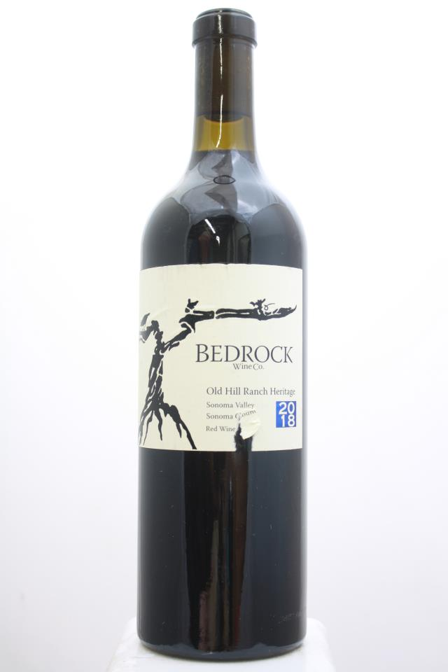 Bedrock Proprietary Red Old Hill Ranch Heritage 2018