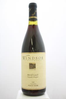 Windsor Pinot Noir Merrill Lynch Cascade Complex 1995