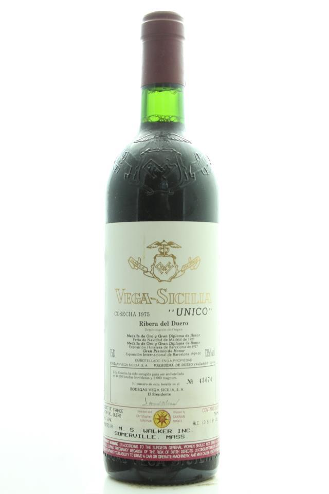 Vega-Sicilia Único 1975