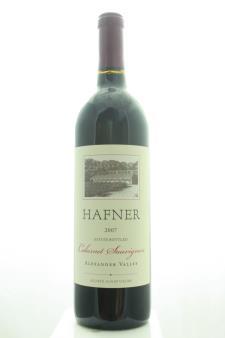 Hafner Cabernet Sauvignon Estate 2007