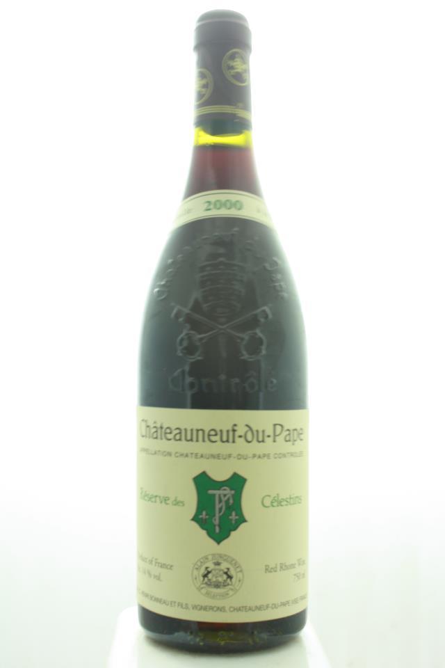 Henri Bonneau Châteauneuf-du-Pape Réservé des Célestins 2000