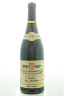 Robert Chevillon Nuits-Saint-Georges Les Saint-Georges 1989