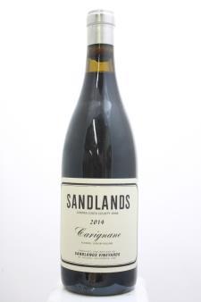 Sandlands Vineyards Carignan Contra Costa County 2014