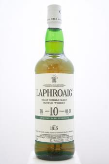 Laphroaig Islay Single Malt Scotch Whisky Original Cask Strength 10-Years-Old 2020