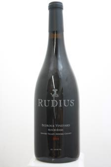 Rudius Mourvèdre Bedrock Vineyard 2014
