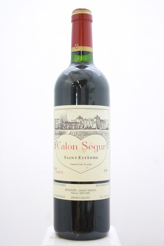 Calon-Ségur 2004
