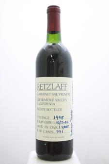 Retzlaff Cabernet Sauvignon Estate 1995