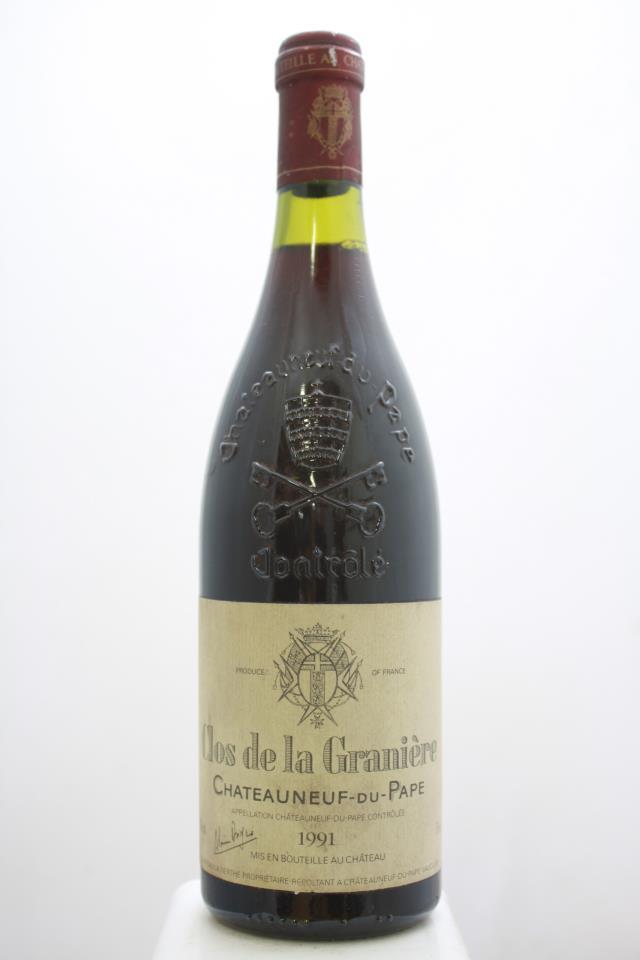 Clos de Nerthe Châteauneuf-du-Pape Clos de la Graniere 1991