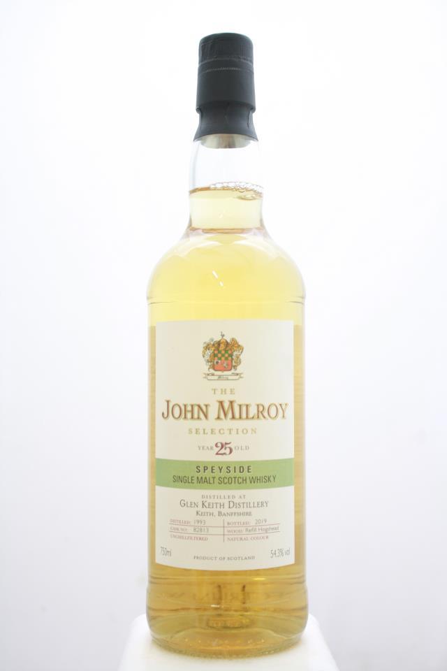 The John Milroy Selection Single Malt Scotch Whisky 25-Years-Old NV