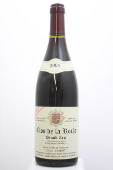 Gerard Raphét Clos de la Roche Cuvée Unique 2005
