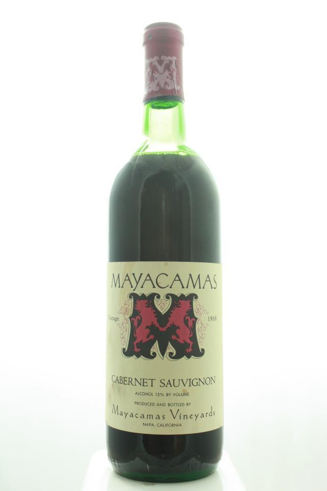 Mayacamas Cabernet Sauvignon 1968