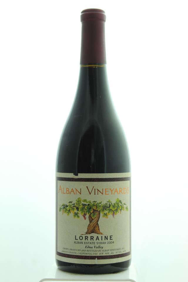 Alban Vineyards Alban Estate Syrah Lorraine 2004