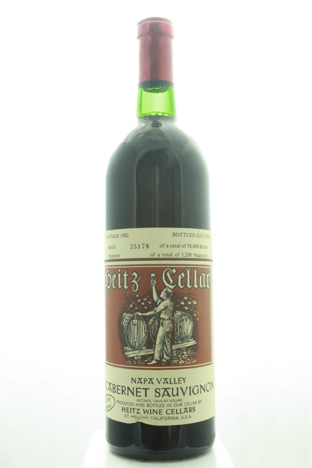 Heitz Cellar Cabernet Sauvignon Martha's Vineyard 1982
