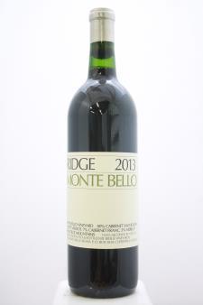 Ridge Vineyards Monte Bello 2013