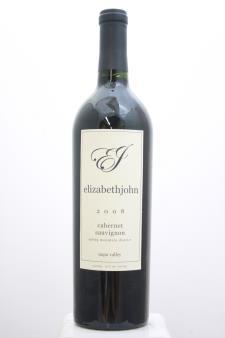 Marston Family Vineyard Cabernet Sauvignon Elizabethjohn 2008