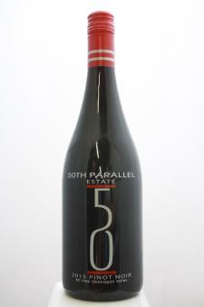 50th Parallel Estate Pinot Noir 2015
