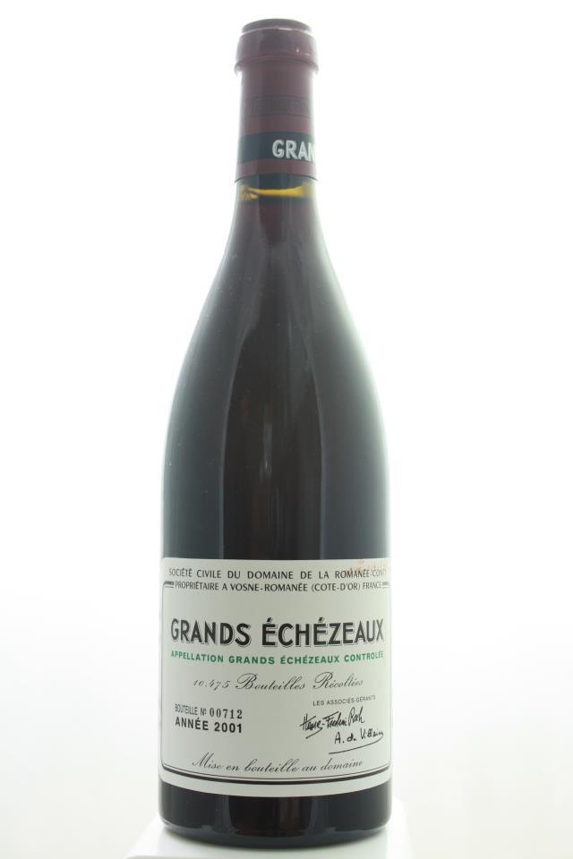 Domaine de la Romanée-Conti Grands Echézeaux 2001