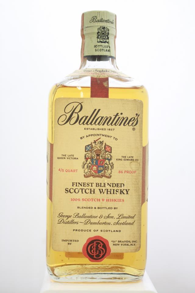 Ballantine's Finest Blended Scotch Whisky NV