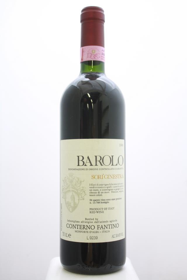 Conterno Fantino Barolo Sorì Ginestra 1996