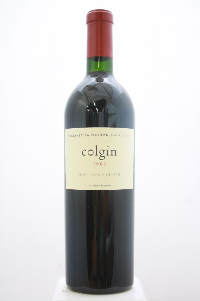 Colgin Cabernet Sauvignon Herb Lamb Vineyard 1993