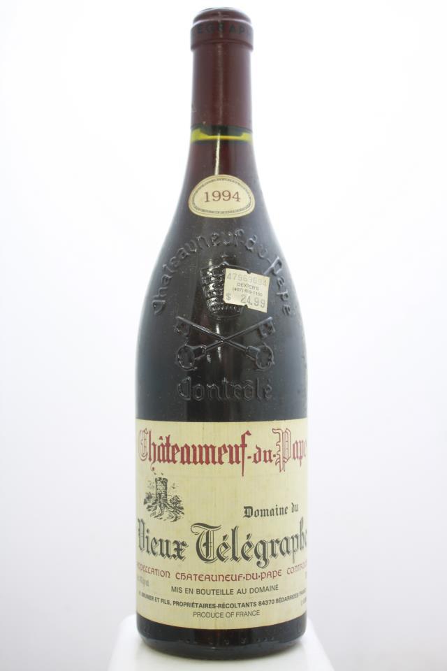 Domaine du Vieux Télégraphe Châteauneuf-du-Pape 1994
