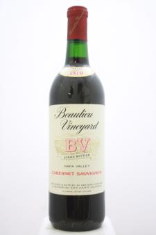 BV Beaulieu Vineyard Cabernet Sauvignon Napa Valley 1970