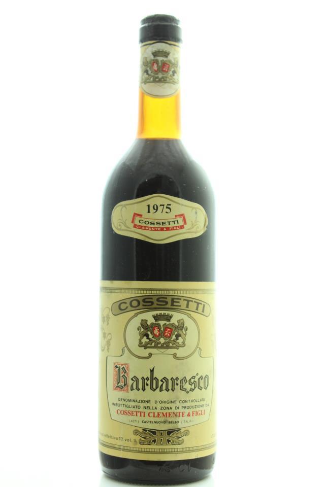 Clemente Cossetti Barbaresco 1975