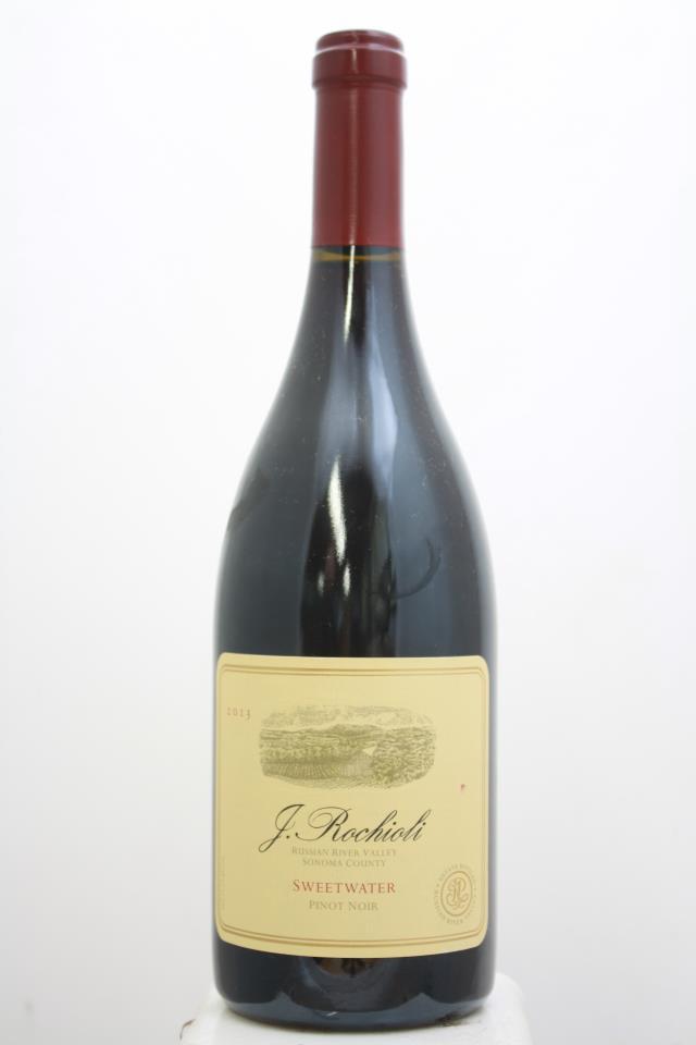 J. Rochioli Pinot Noir Estate Sweetwater Vineyard 2013