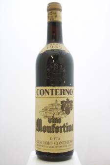 Giacomo Conterno Barolo Riserva Monfortino 1955