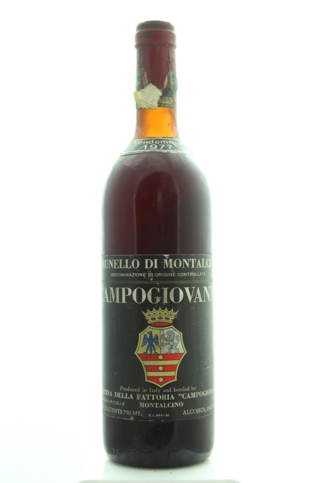 Campogiovanni Brunello di Montalcino 1977