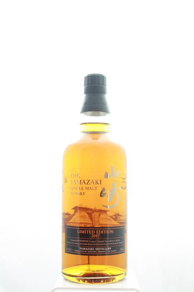 Suntory The Yamazaki Single Malt Japanese Whisky Limited Edition 2017