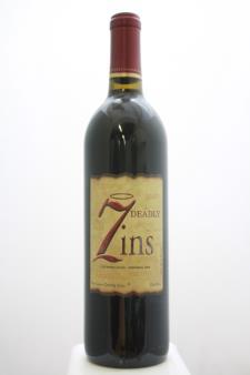 Seven Deadly Zins Old Vine Zinfandel  2008