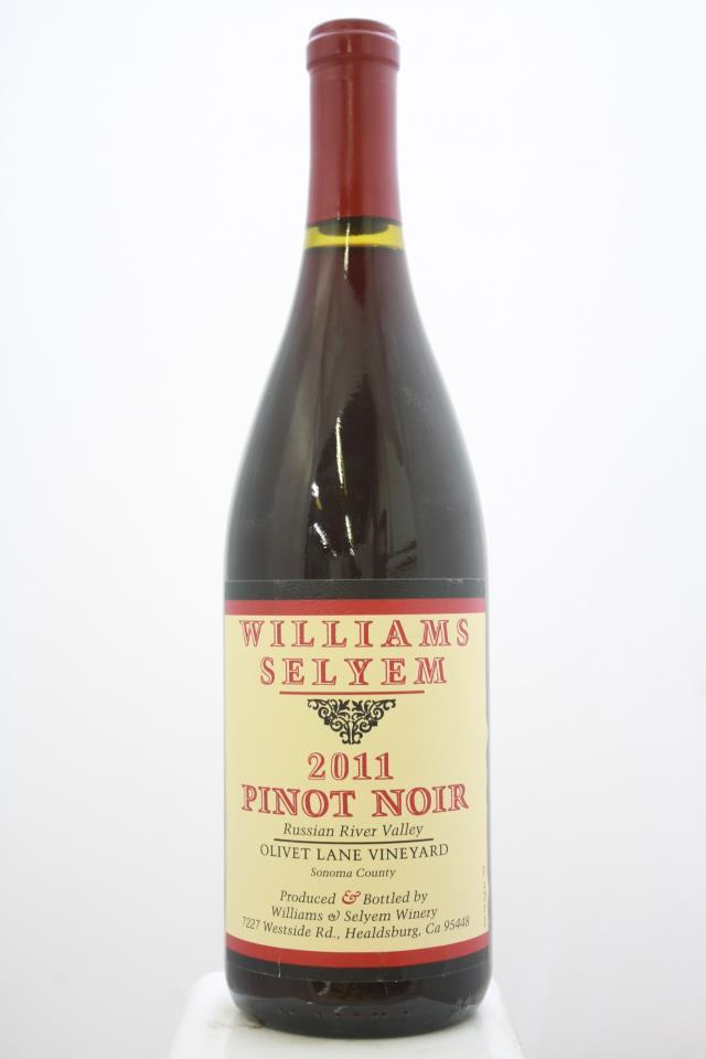 Williams Selyem Pinot Noir Olivet Lane Vineyard 2011