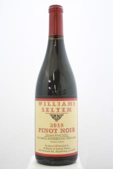 Williams Selyem Pinot Noir Rochioli Riverblock Vineyard 2018