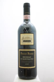 La Poderina Brunello di Montalcino Poggio Banale 1997
