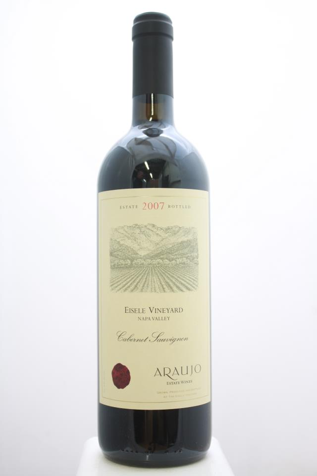Araujo Estate Cabernet Sauvignon Eisele Vineyard 2007